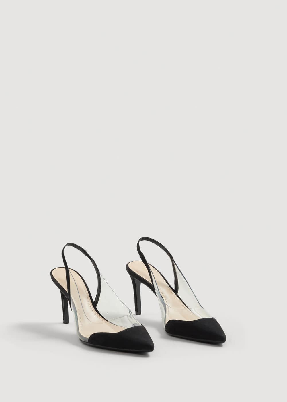 See-through panels stilettos | MNG