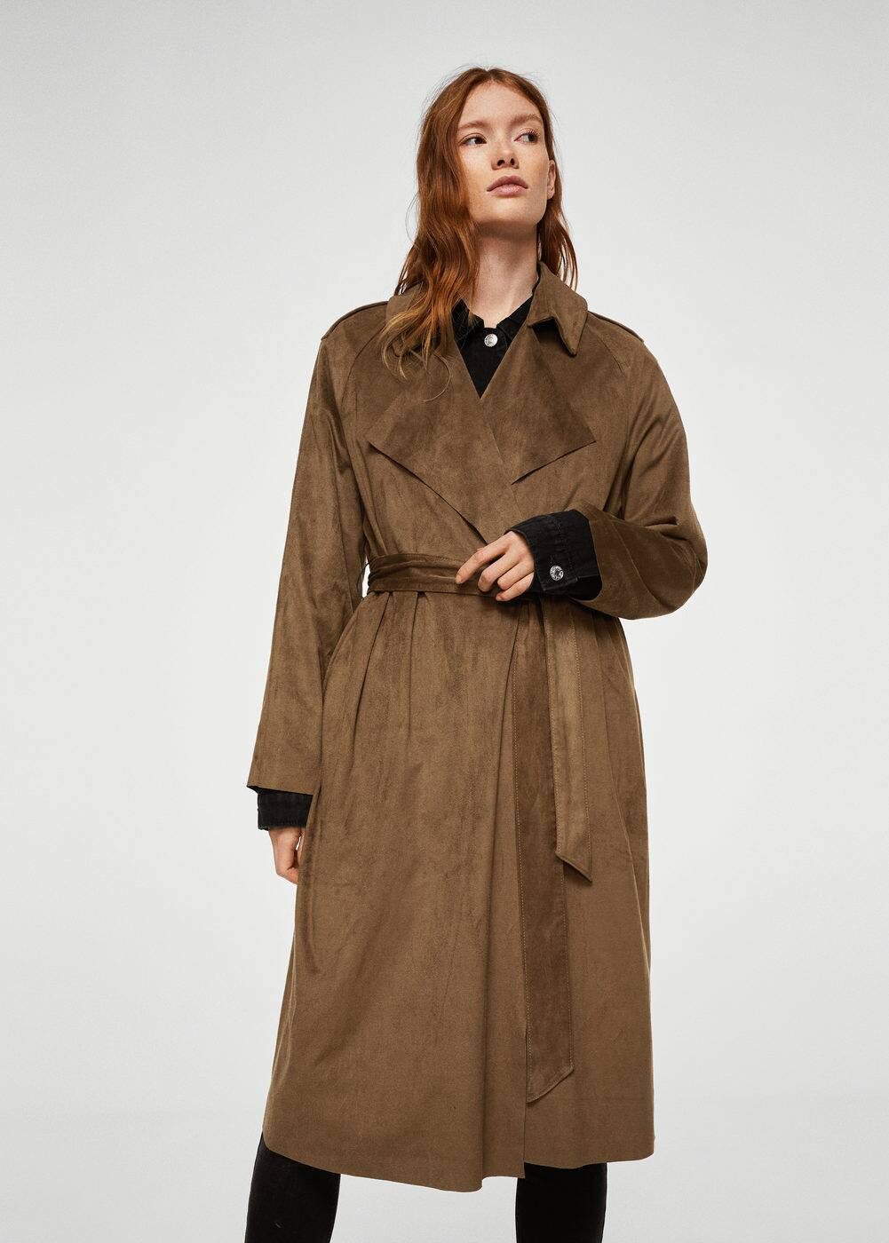 Soft finish trench | MANGO