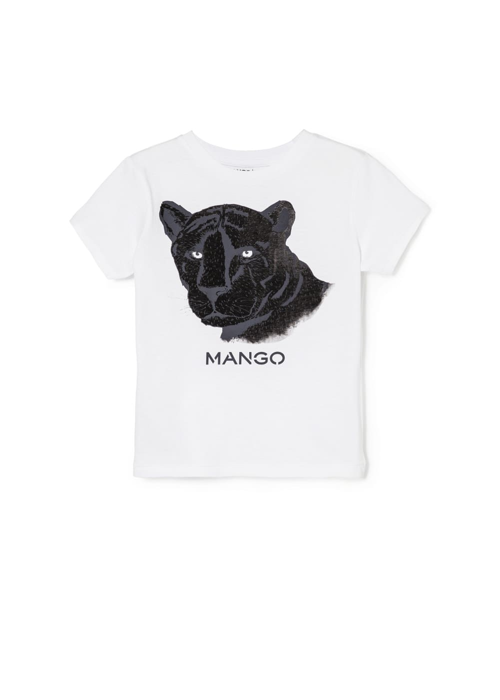 T-shirt mit animal-print | MANGO KIDS