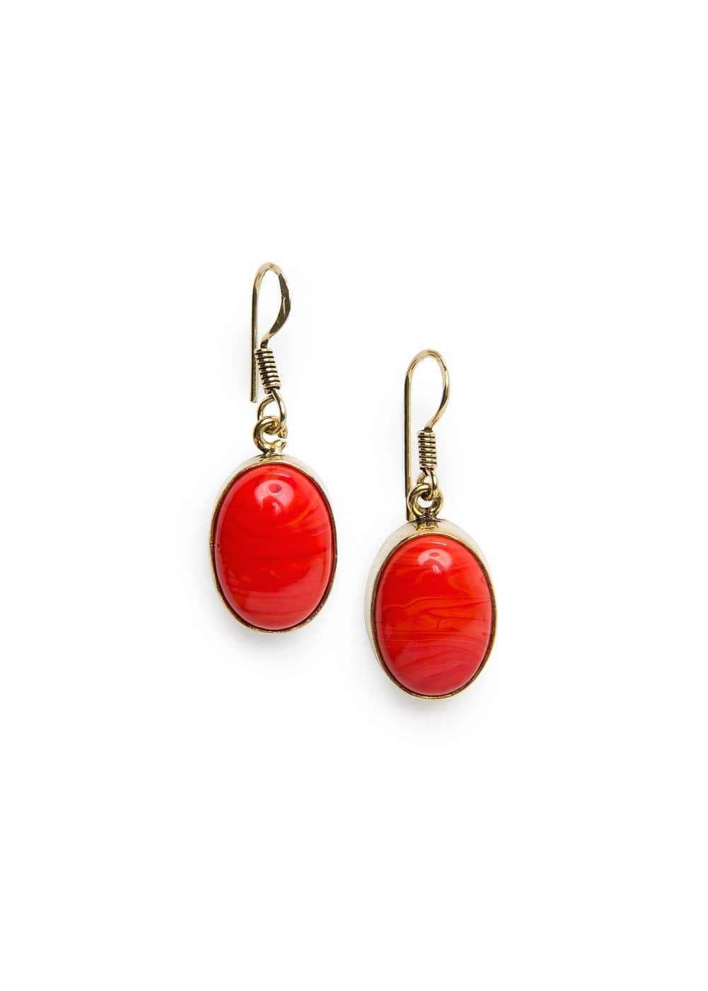 Stone earrings | MANGO