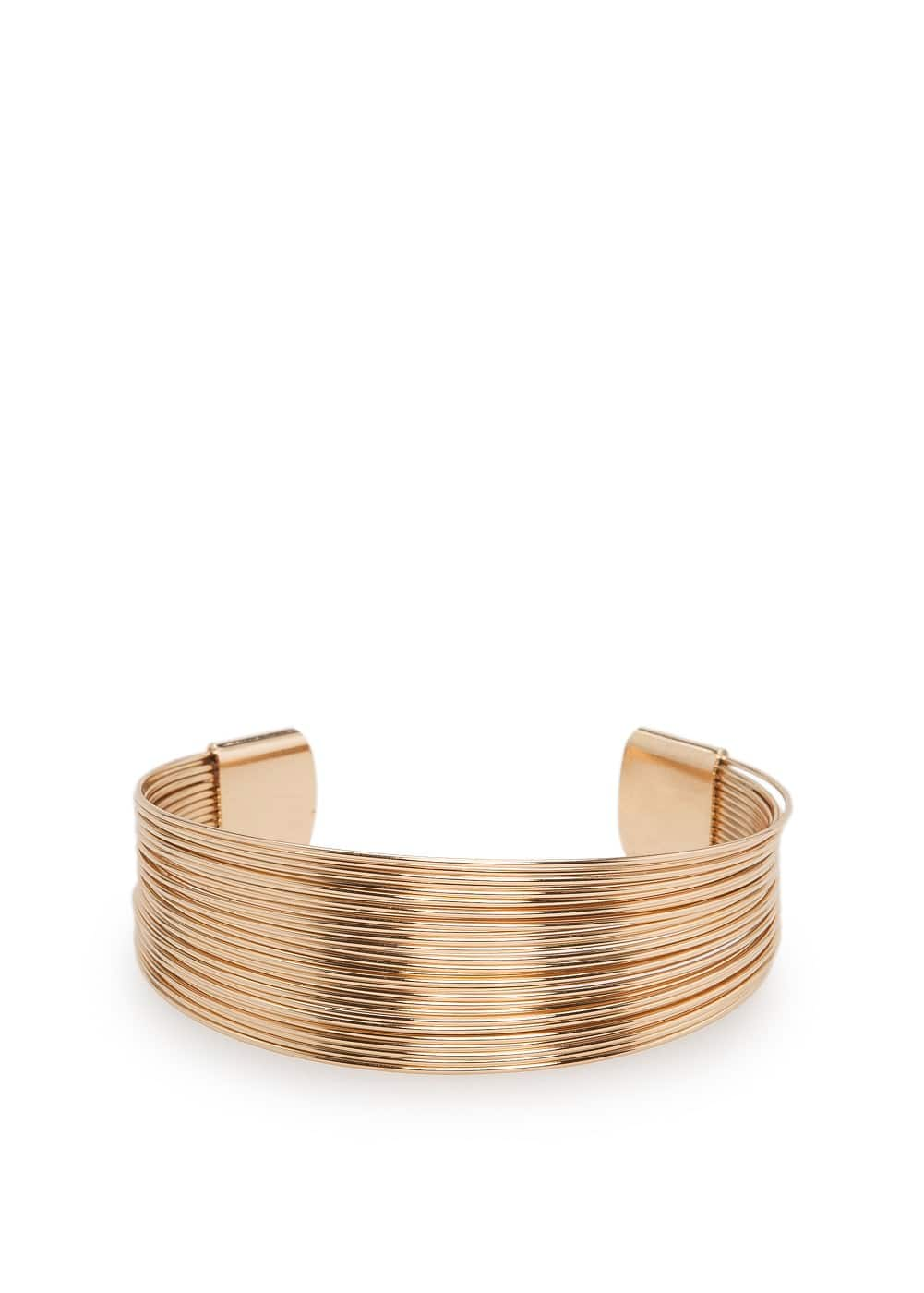 Multiple hoop cuff | MANGO