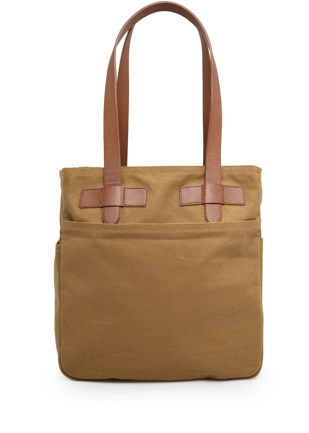 Canvas tote bag | MANGO MAN