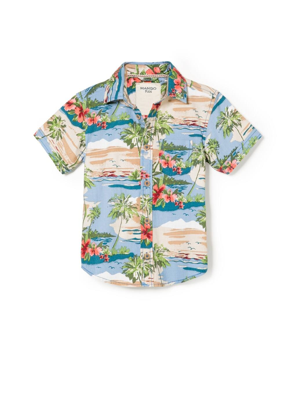 Hawaiian shirt | MANGO
