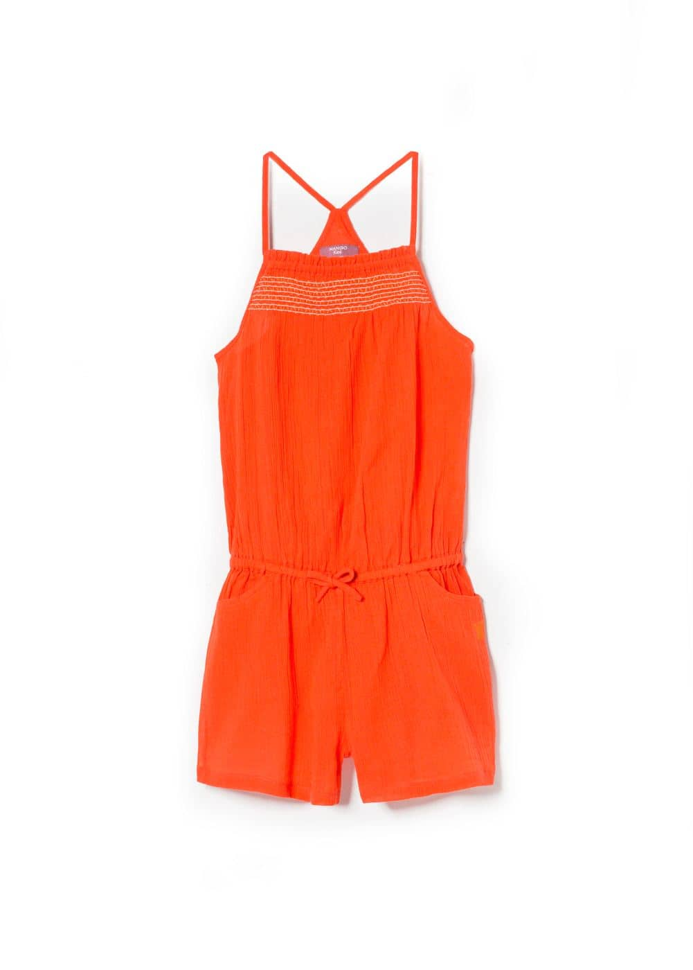 Ruched short jumpsuit | MANGO