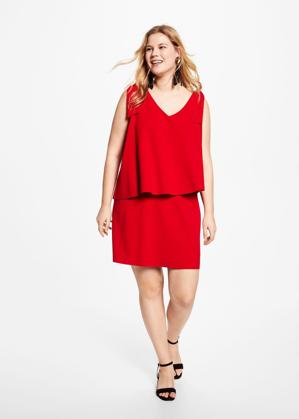 Double layer dress | VIOLETA BY MANGO