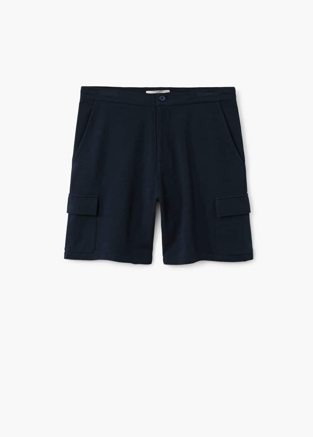 Pockets cotton bermuda shorts | MANGO MAN