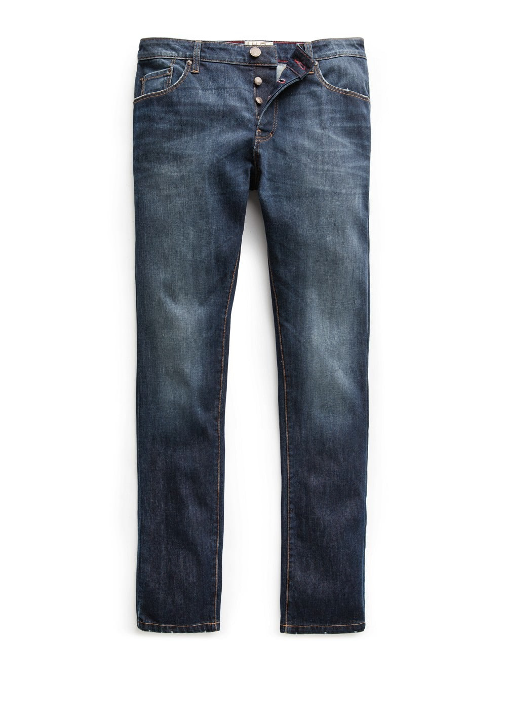 Jeans tim slim-fit lavado oscuro | MANGO KIDS