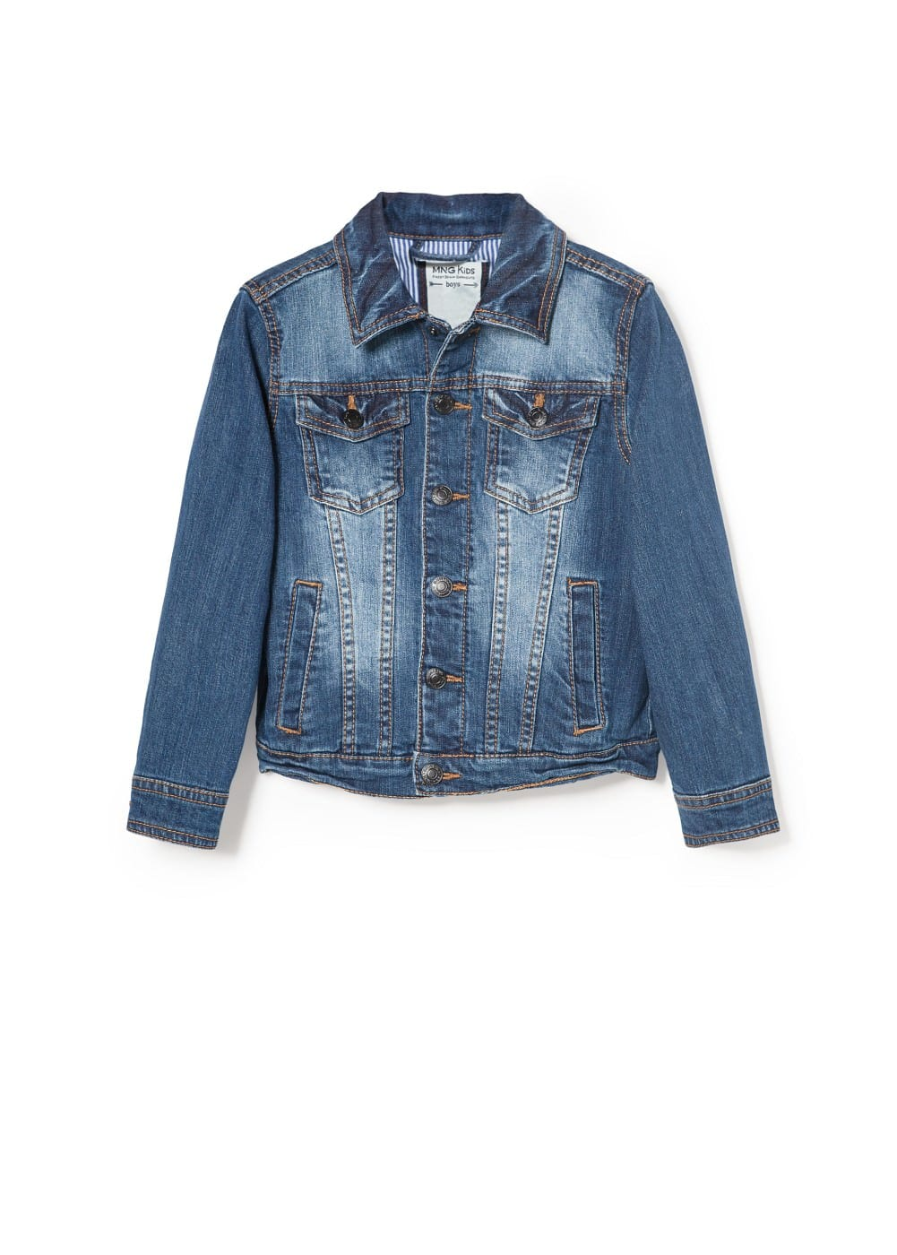 Dark denim jacket | MANGO