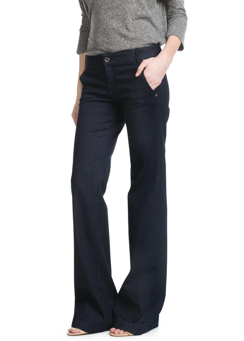 Chino-fit martina jeans | MANGO