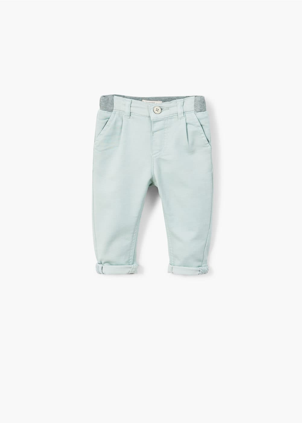Stretchy chinos | MANGO
