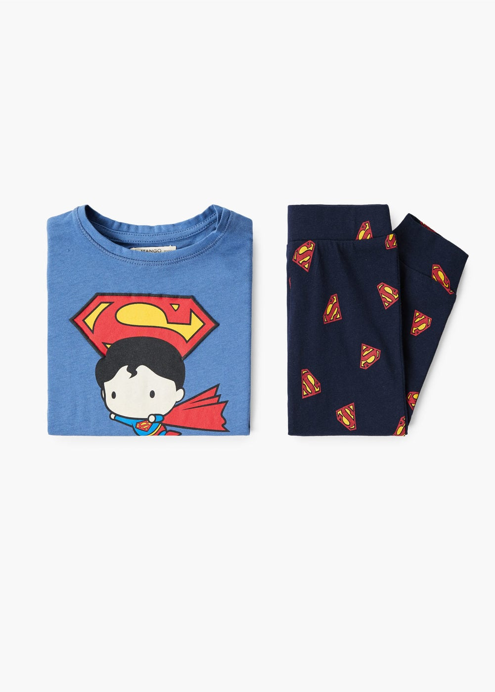 Long Superman Pyjamas by Mango