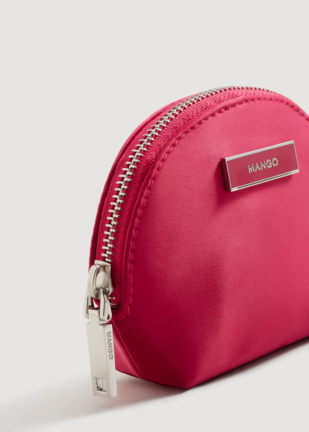 Satined effect purse | MANGO