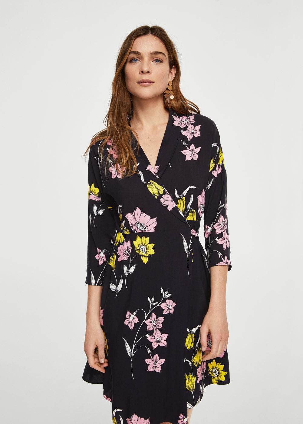 Floral wrap dress | MNG