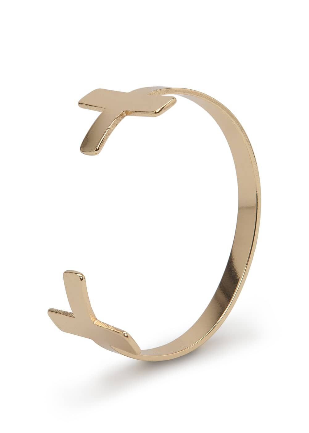 Cross cuff | MANGO