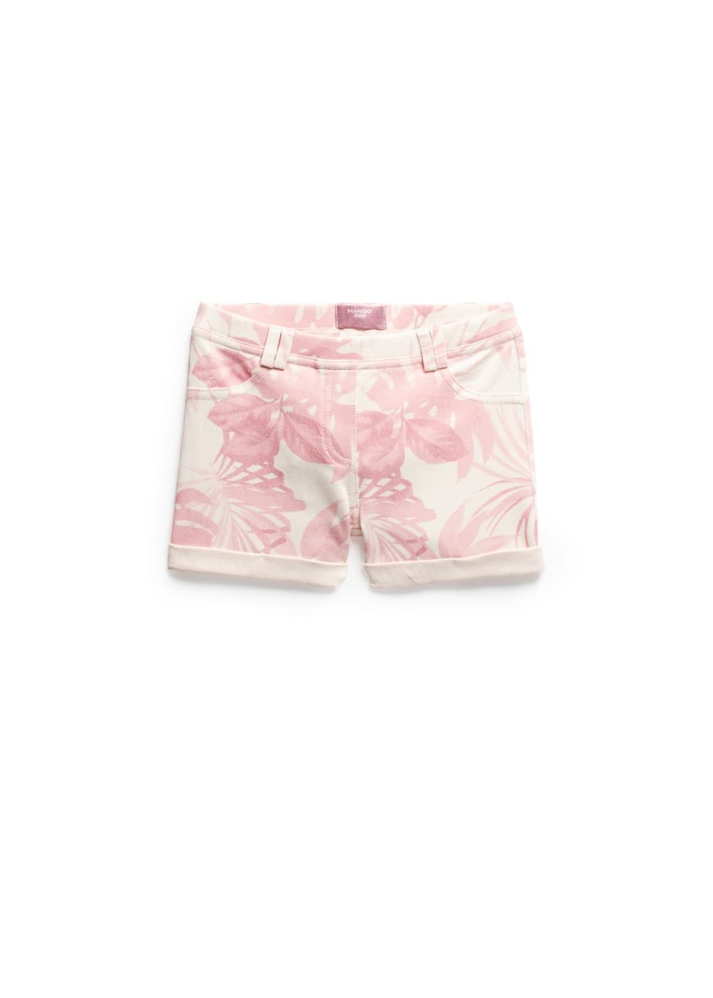Tropical print shorts | MANGO KIDS
