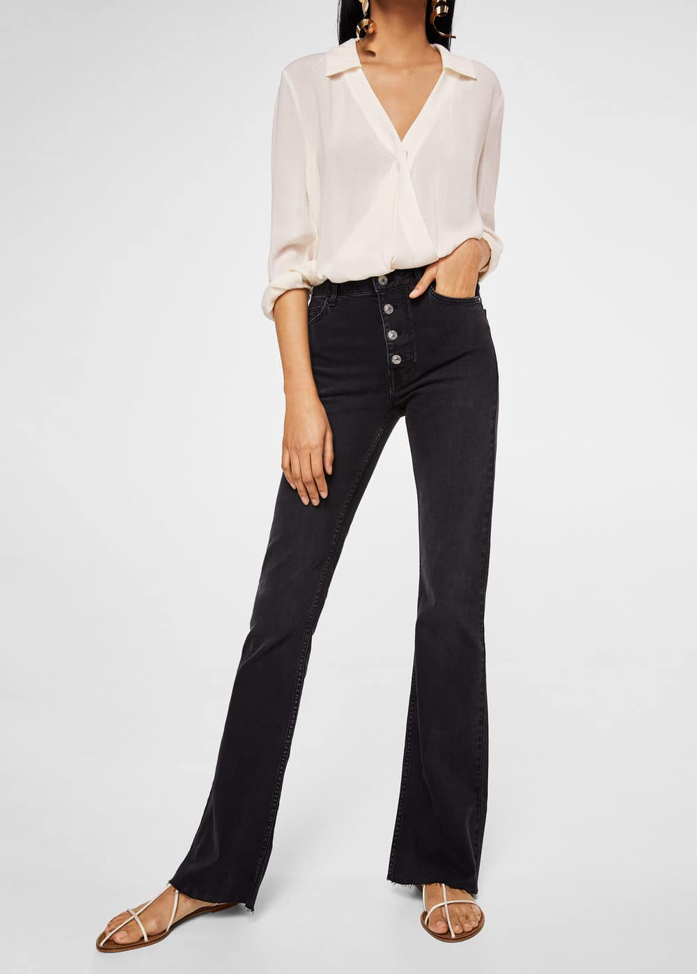 Jeans Flare Newflare by Mango