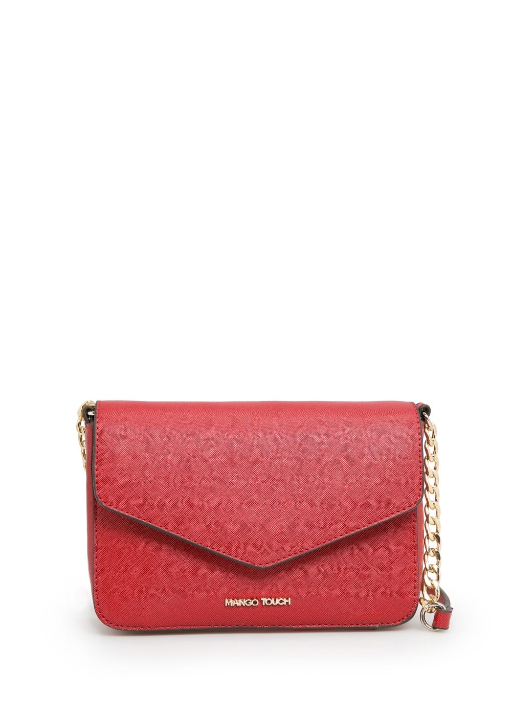 Saffiano cross body bag | MANGO