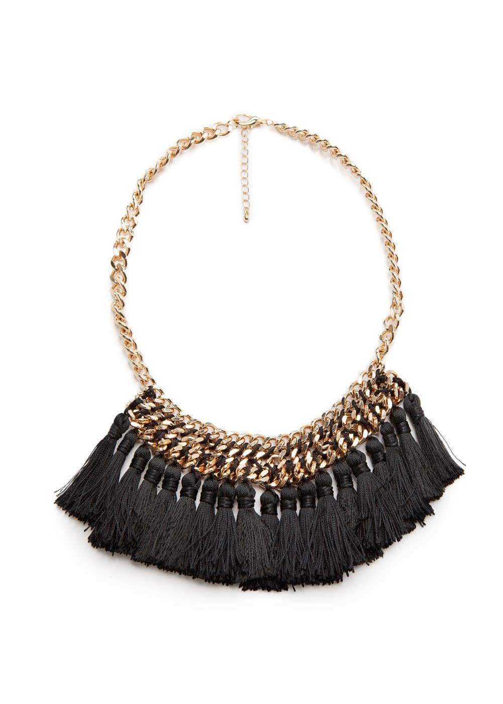 Tassel chain necklace | MANGO