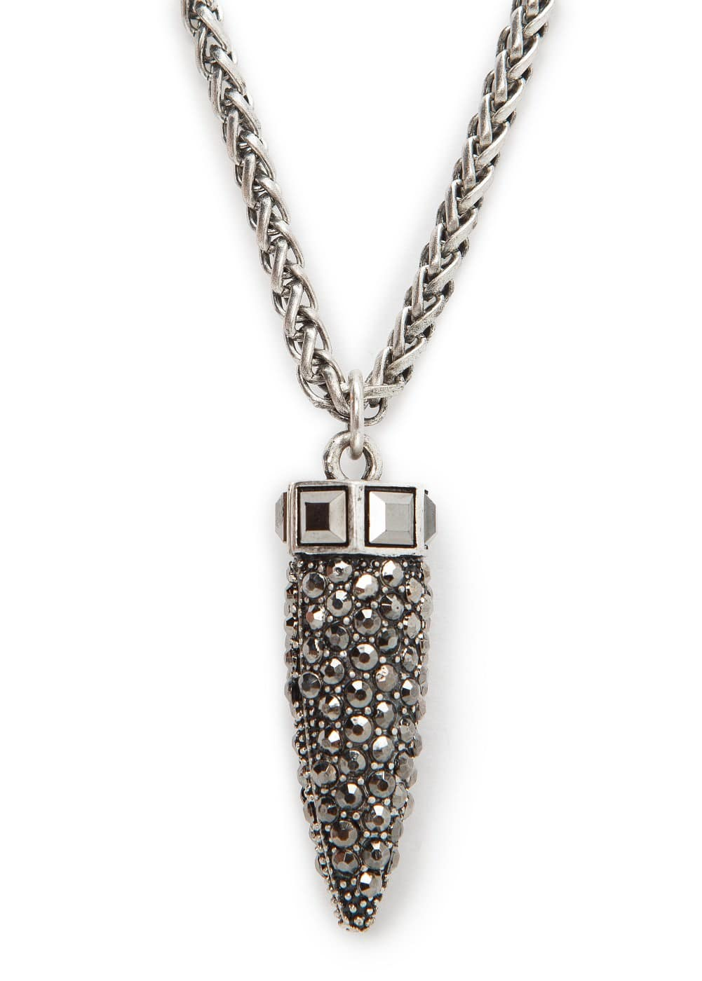 Bullet pendant necklace | MANGO