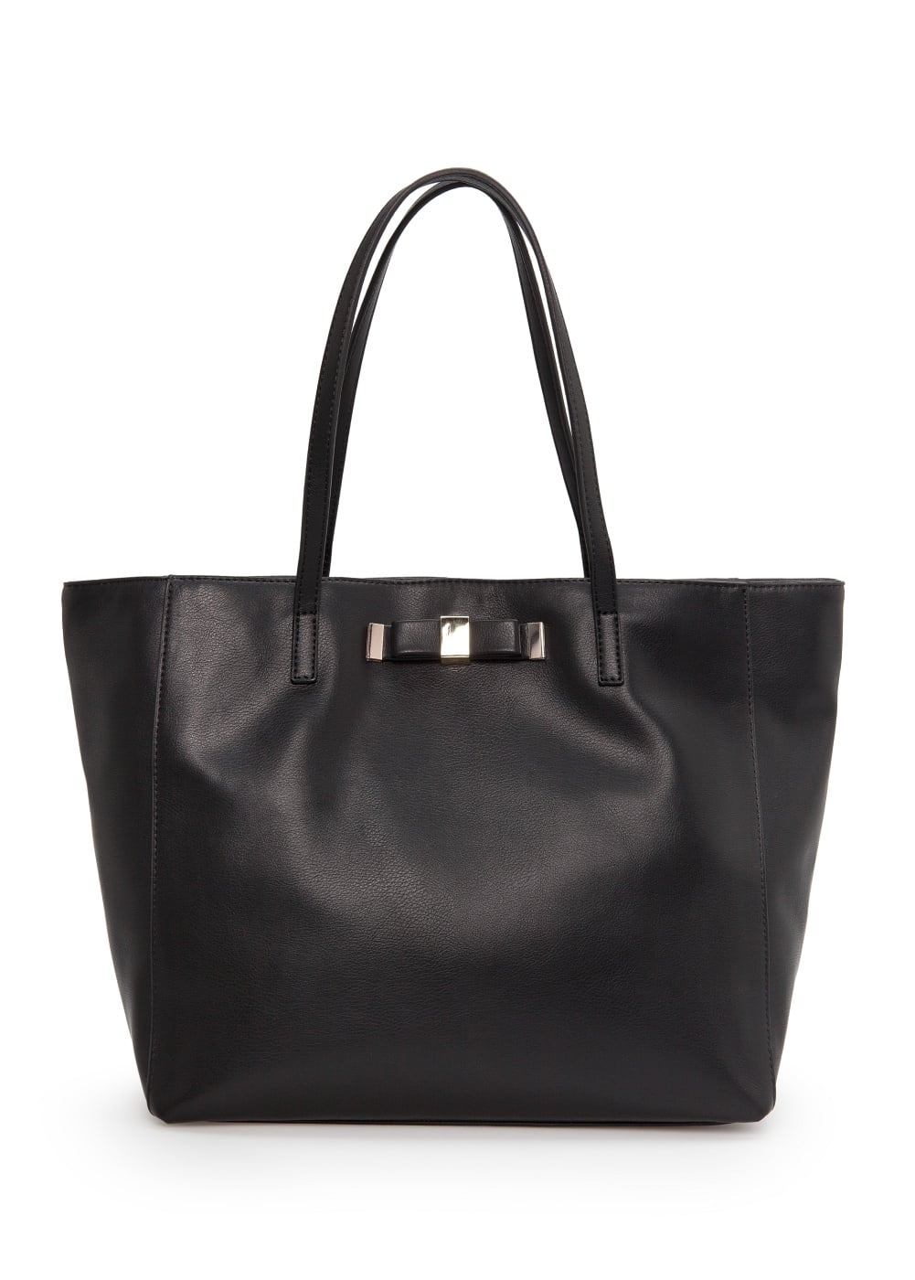 Bow shopper bag | MANGO