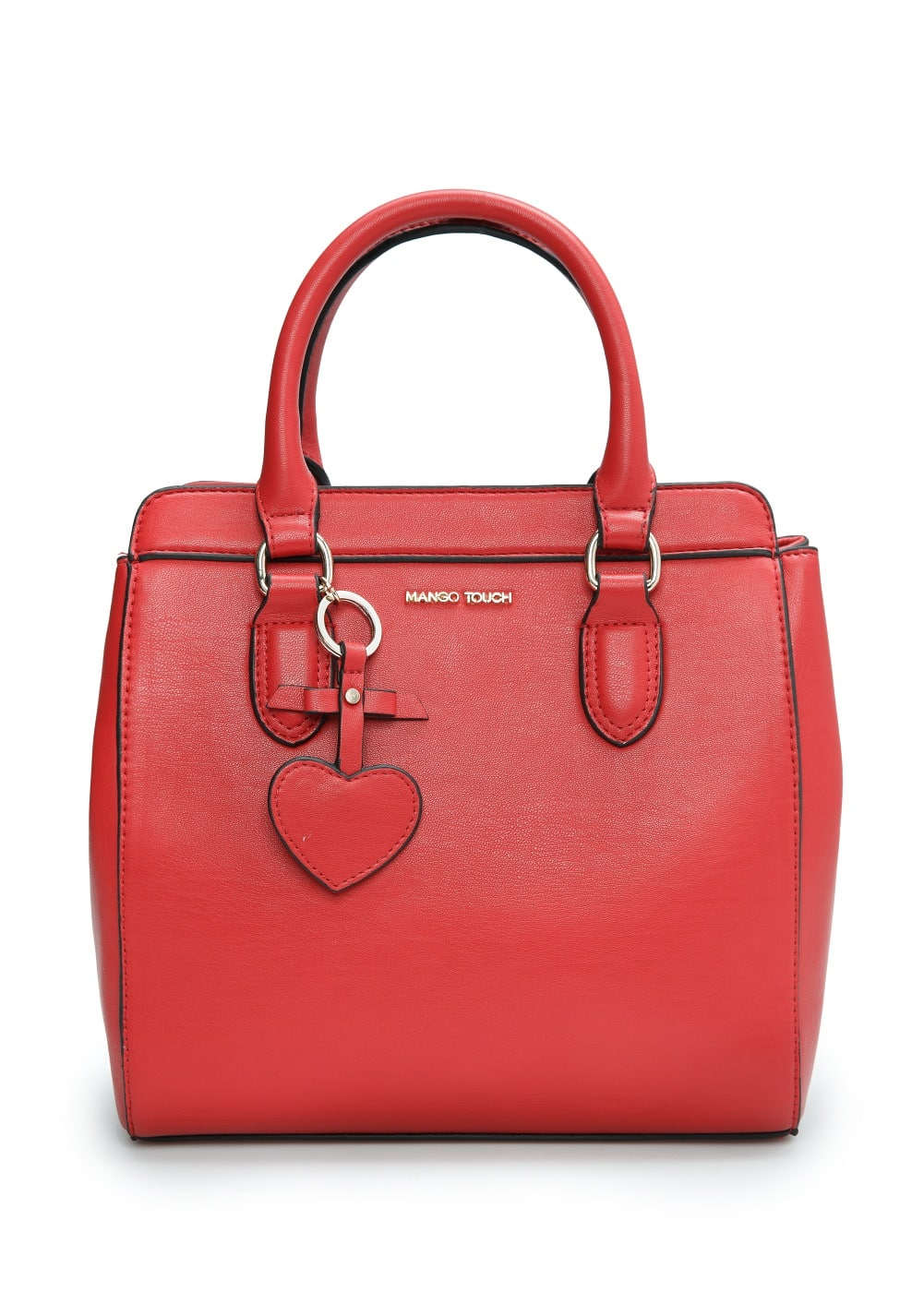 Heart key-ring bag | MANGO