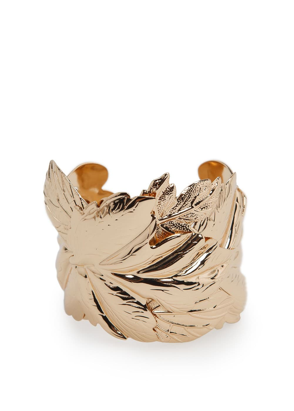 Leaf wide cuff | MANGO