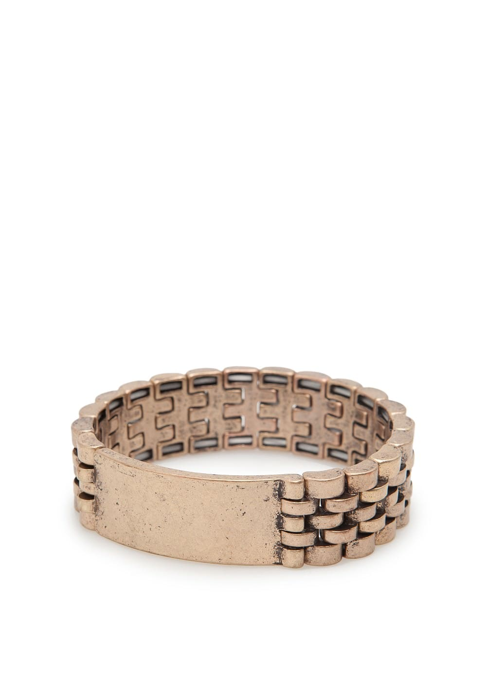 Watch chain bracelet | MANGO
