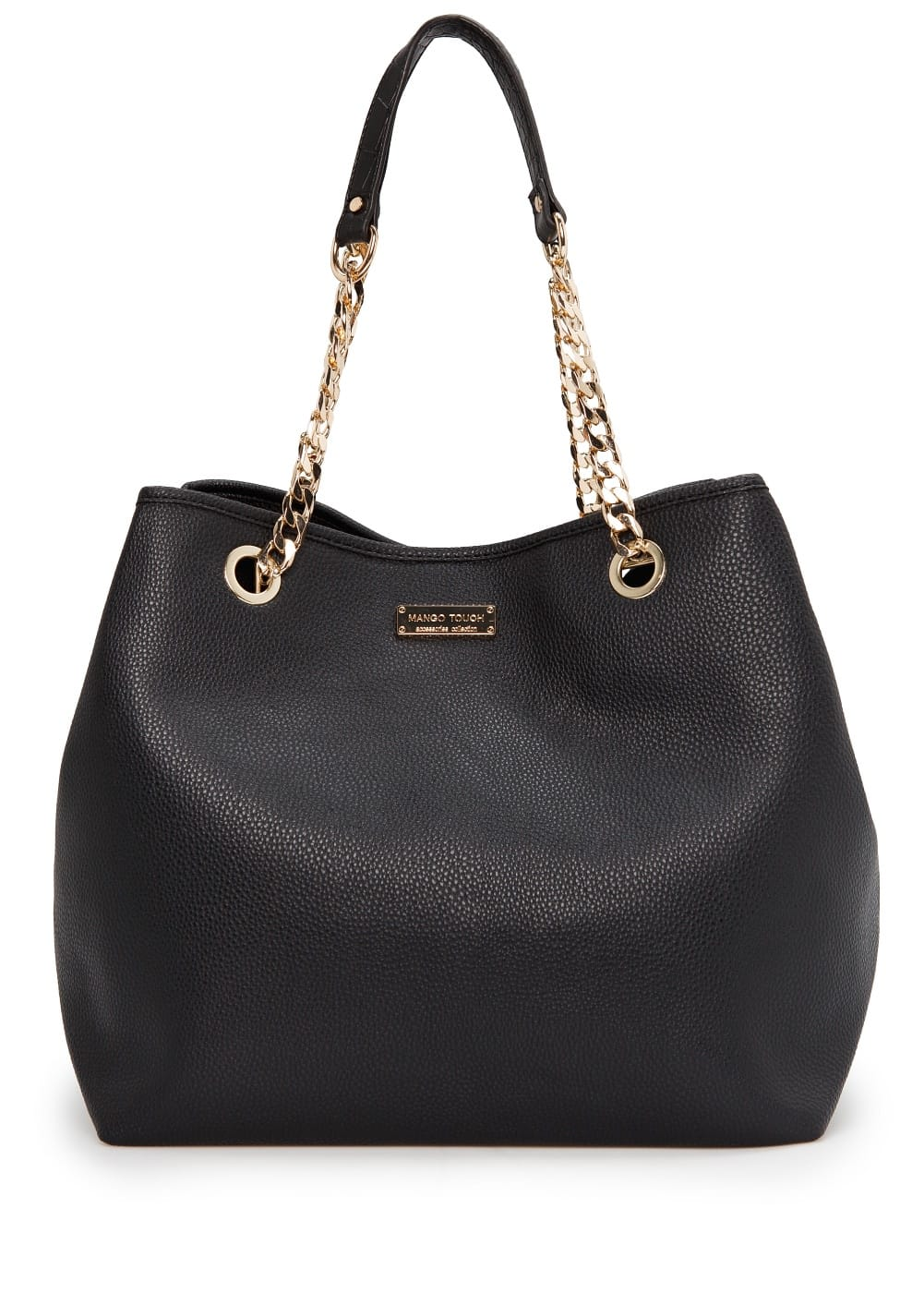 Chain shopper bag | MANGO