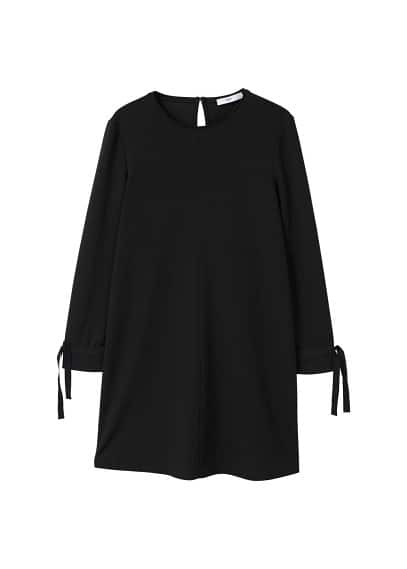 MANGO Contrast sleeve dress