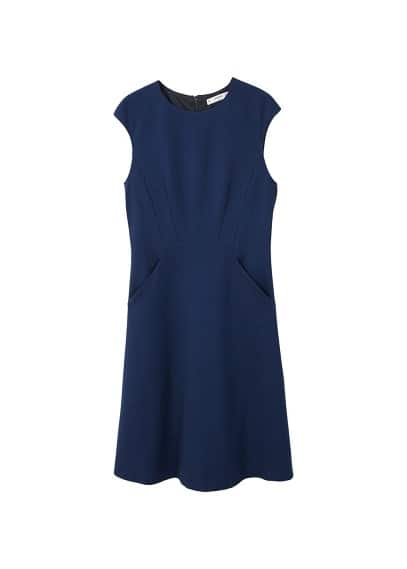 MANGO Side pockets dress