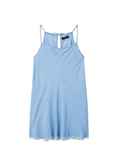 Violeta BY MANGO Soft denim dress