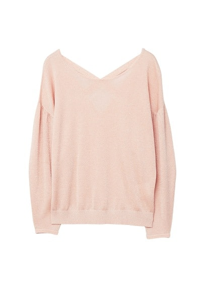 Pull-over dos ouvert