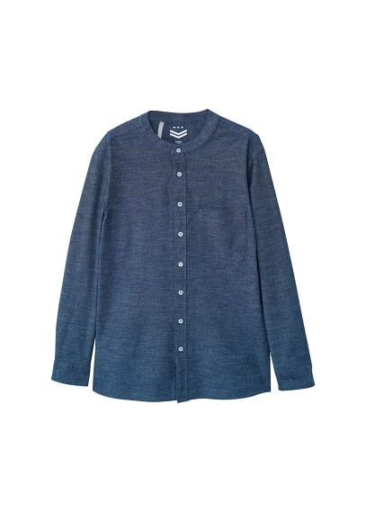 Chemise regular-fit coton chambray