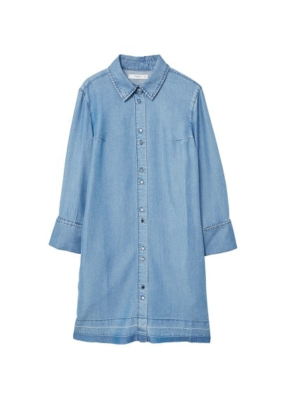 MANGO Medium denim dress