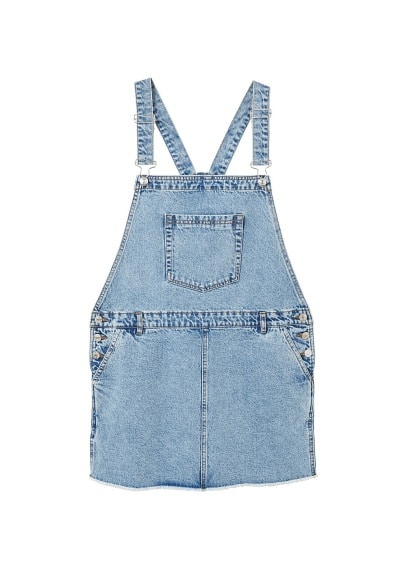 MANGO Medium denim dungarees