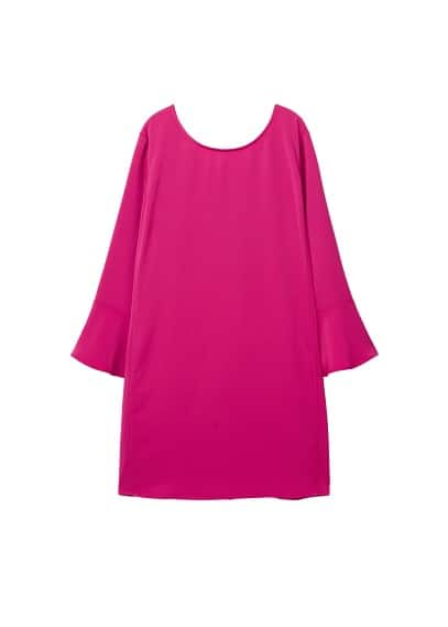 Violeta BY MANGO Flared sleeves dress