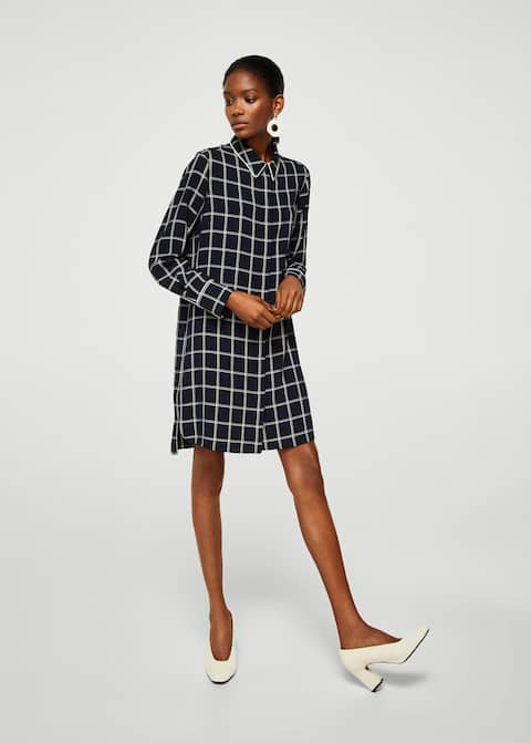 8cc26254eb07c4 Check Shirt Dress from Mango was £39.99 now £15.99