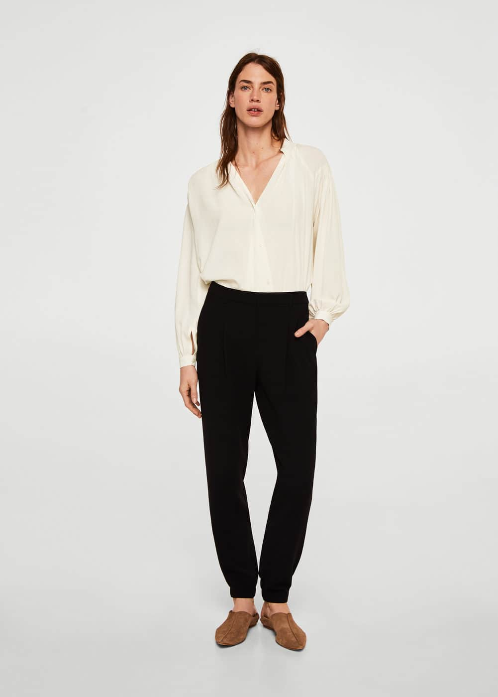 Mango - Ruched detail blouse - 2