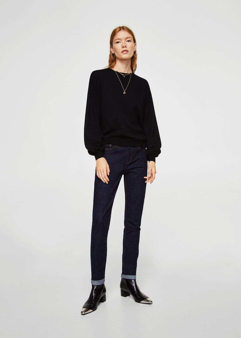 Back vent sweater | MNG