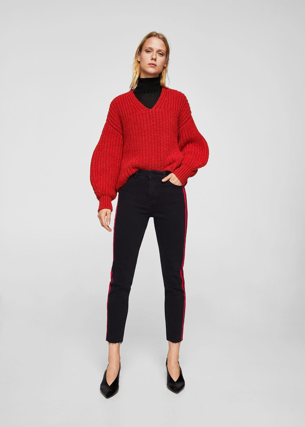Contrast panels jeans | MNG