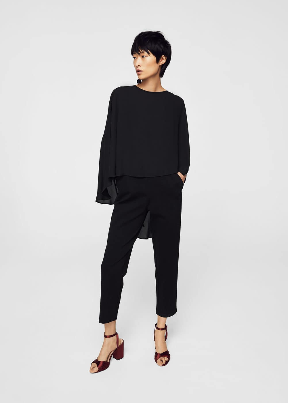 Doble-layer jumpsuit | MNG