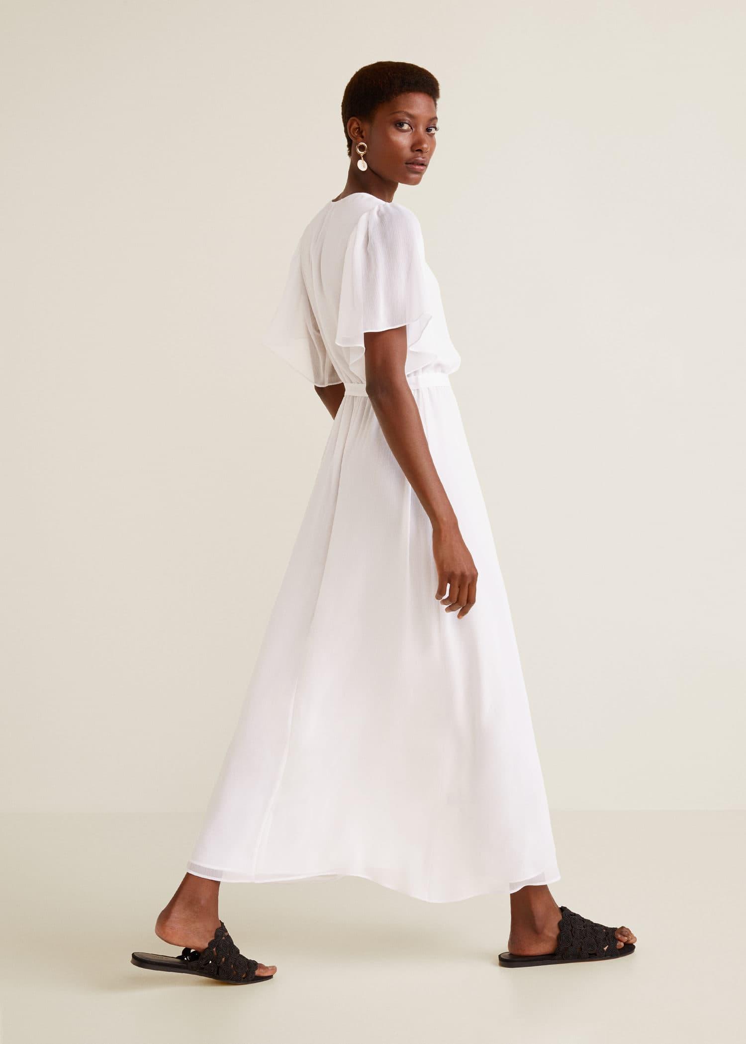 Femme 2019 Mango France Longues Robes Pour EqxFawwS