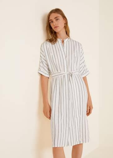 820963ce01 Striped shirt dress - Women