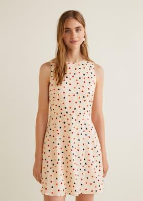 Splývavé šaty s potiskem ffa0026dad