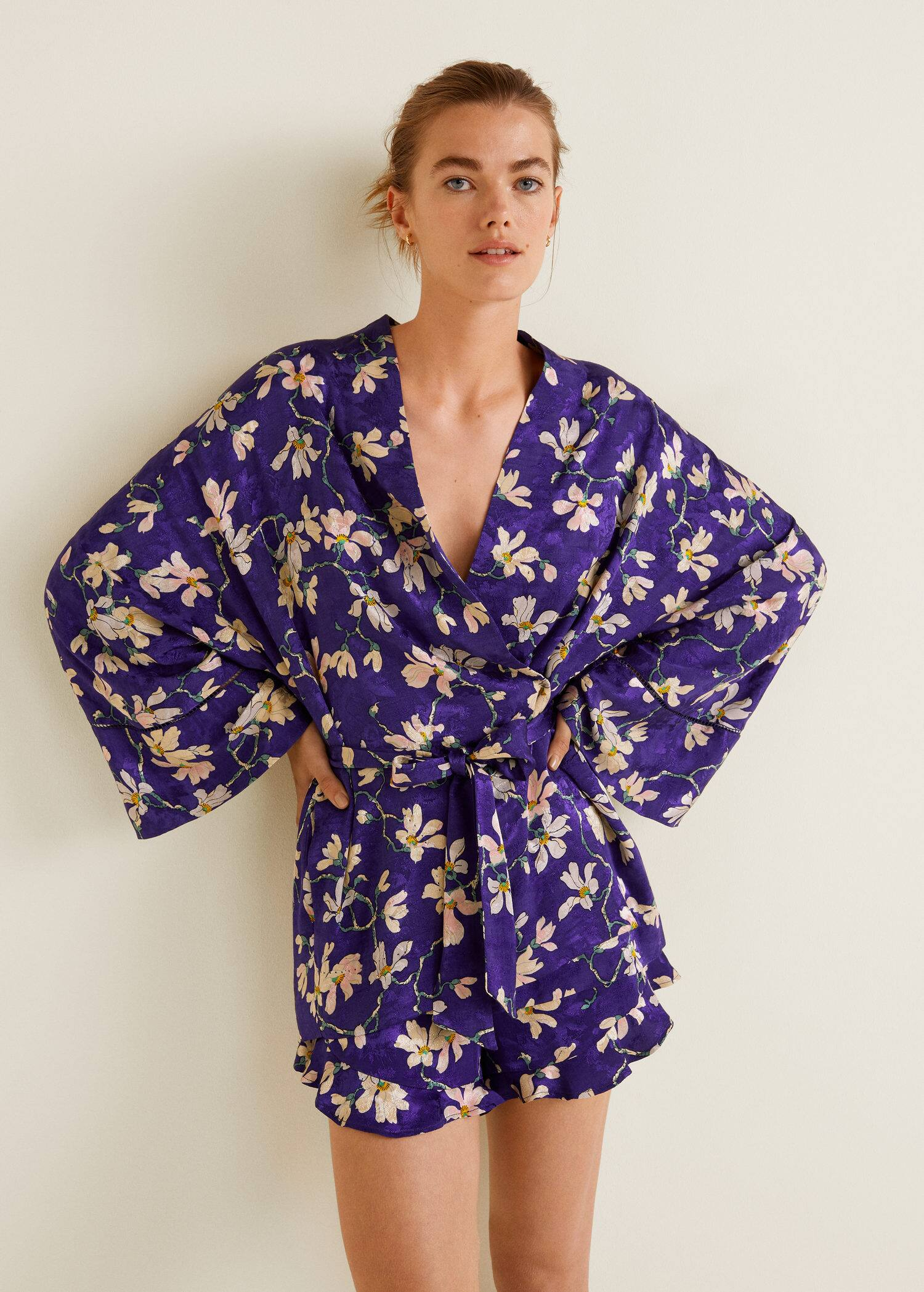 nouveaux styles Achat/Vente attrayant et durable Kimono med blomstertrykk - Damer | OUTLET Norge