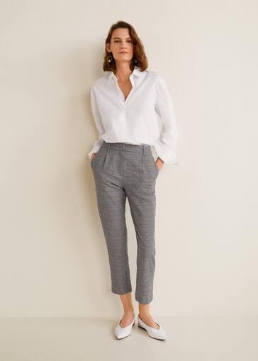 la meilleure attitude 2fbab 45794 Gingham check pattern trousers