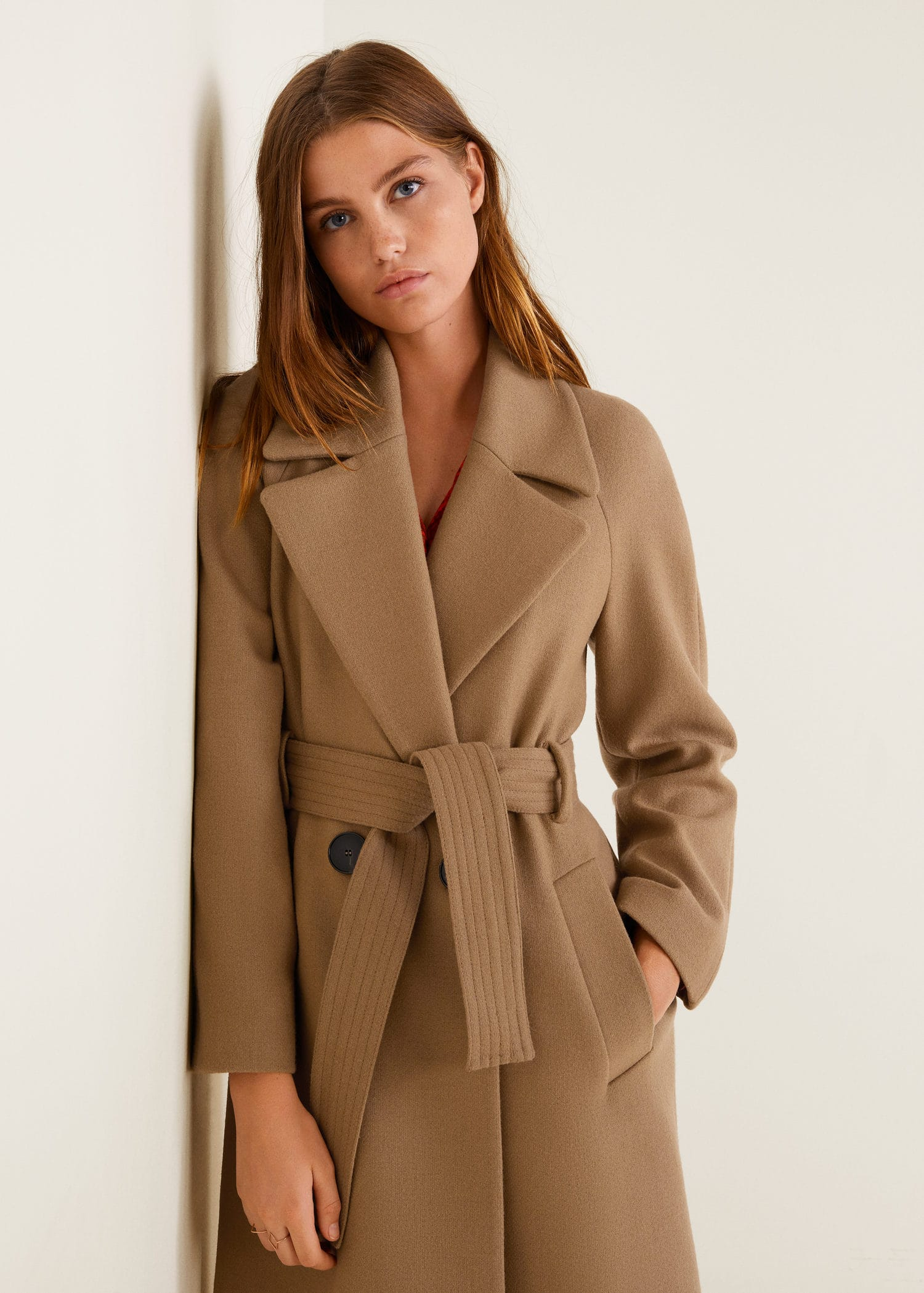 Mango Structured wool coat at £97.99  785bc891e