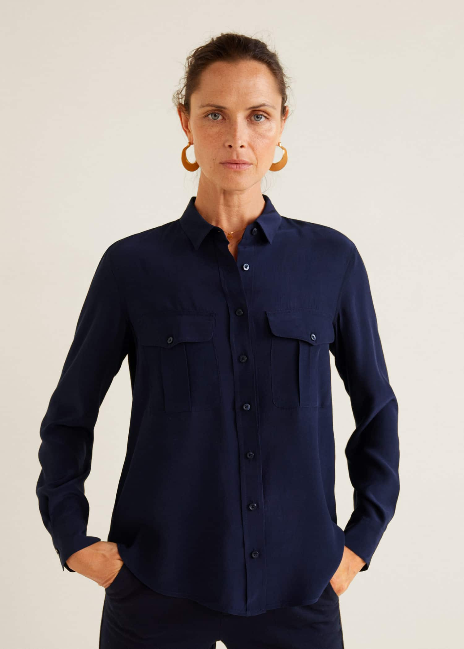 Chemises pour Femme 2019   MANGO France 0cb45399c4af