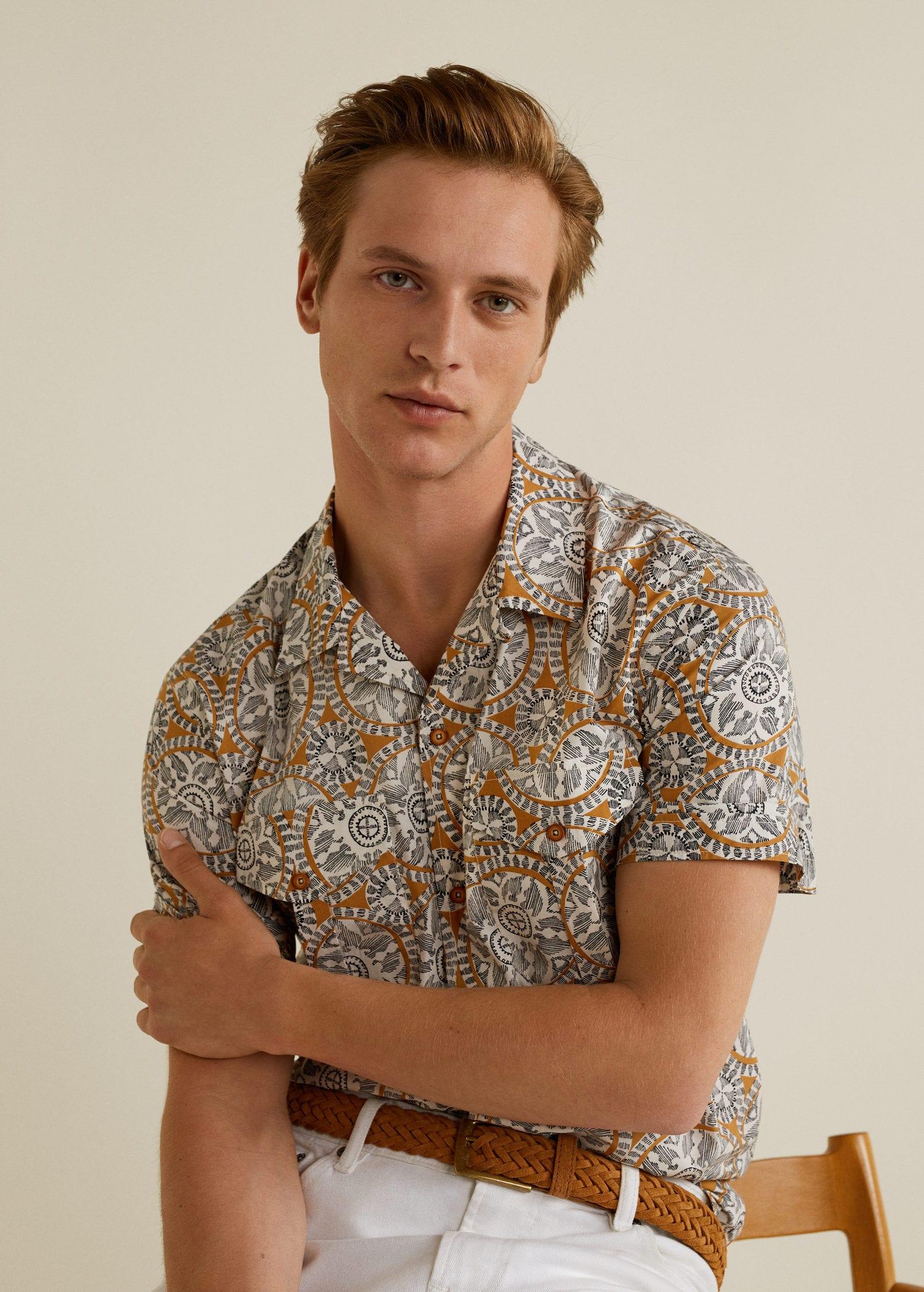 Chemises pour Homme 2019   MANGO Man Canada a1a3e8e0a9e1