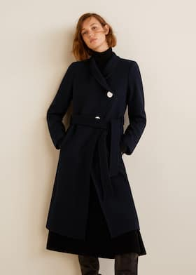74d2991b630c Belted wool coat Belted wool coat. Add. Choose your size